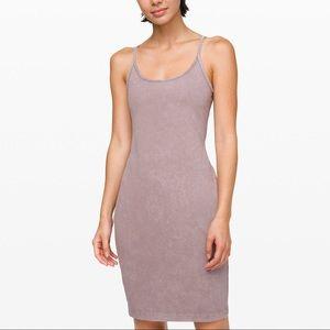 Lululemon inner glow dress! Washed half moon